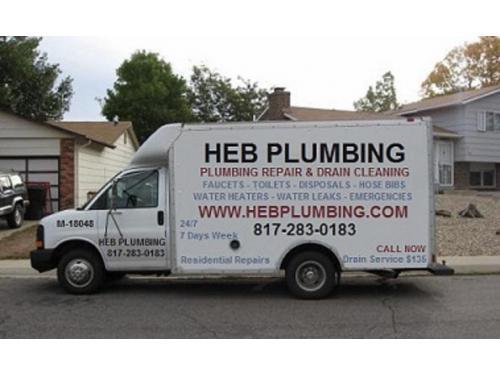HEB PLUMBING Truck