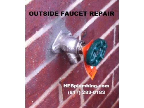 Outside Faucet Repair