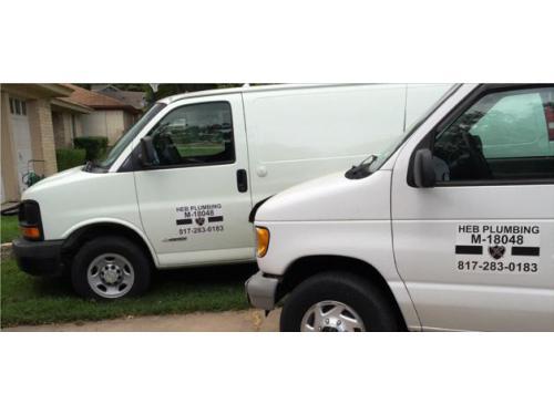 HEB Plumbing Van