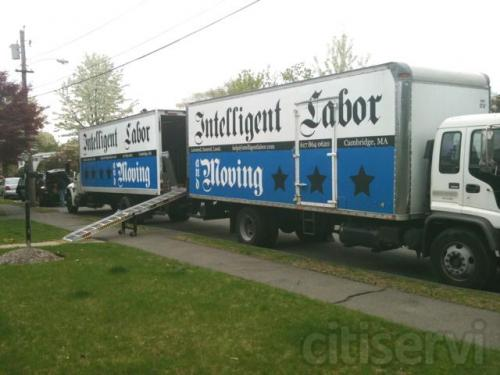 two of our trucks