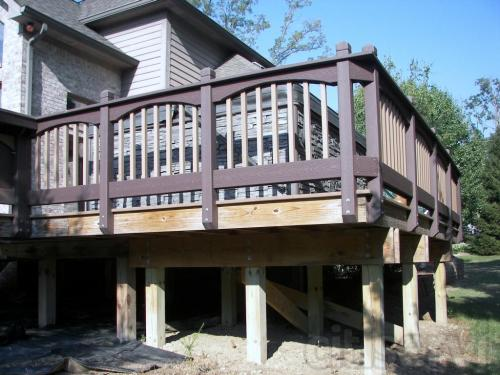 Composite Deck by Nick's Custom Construction