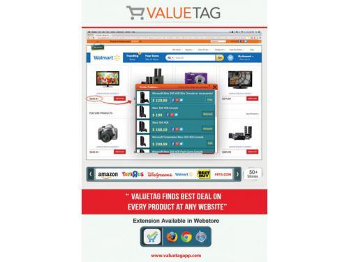 Valuetag Shopping coupon codes