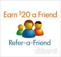 $20 CASH REFERRAL FOR EACH AND EVERY CUSTOMER YOU SEND TO US.