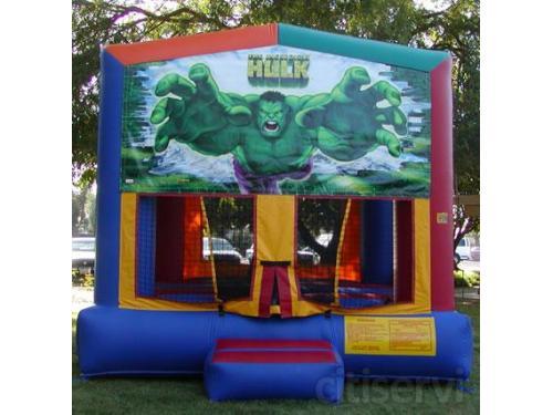 Incredible Hulk Bounce House