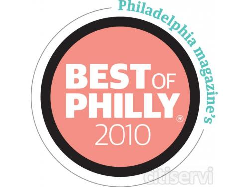 I won Best of Philly for philly magazine for 2010