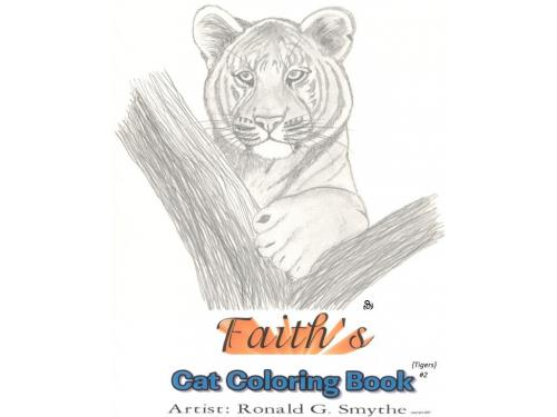 Faiths Cat Coloring Book #2