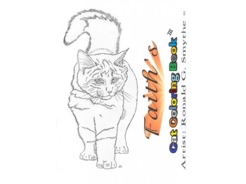 Faiths Cat Coloring Book #3