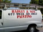 Interior house painting services by Hadley & Son Painting Maineville Oh 45039