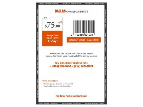 Get $75 off on all Garage Door Repair services by Dayton Garage Door Experts