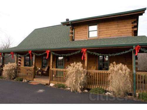 Log Home Restoration Project