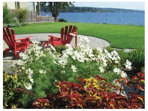 Residential Landscape Design, Construction, and Full-service Maintenance by Environmental Construction, Kirkland, WA