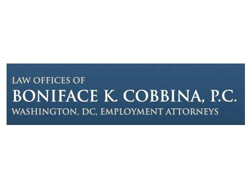 The Law Offices of Boniface K. Cobbina, P.C., represents clients who have suffered discrimination or harassment in the workplace in Washington, D.C.