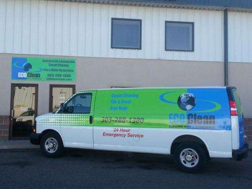 Flood Damage Denver Services|Emergency Restorarion Services Van -EcoCleanCares