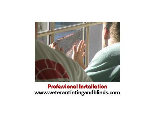Professional Window Film Installation