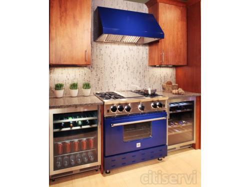 Live Blue Star Kitchen in the Louisville Showroom