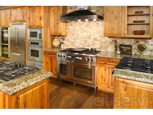 Live Dacor Kitchen in the Louisville Showroom