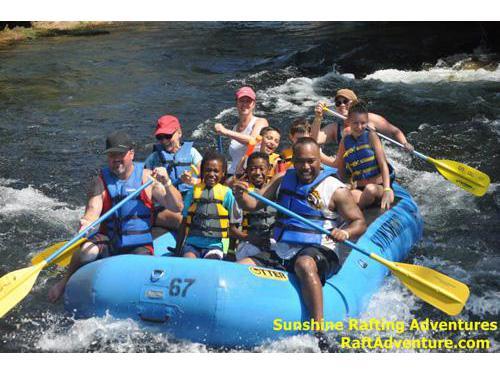 Knights Ferry Rafting