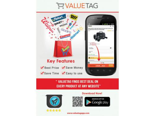 Verified coupon codes from valuetagapp.com