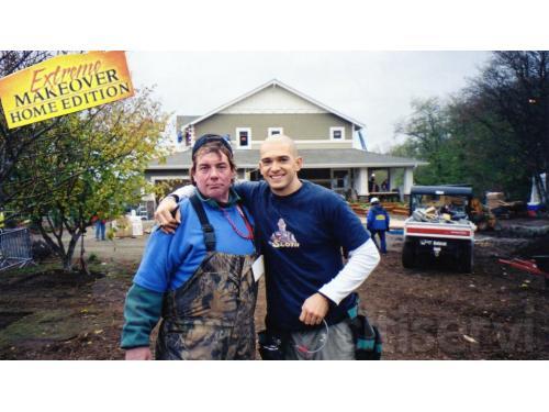 Rick & Ed Sander @ Extreme Makeover: Home edition Kitsap County