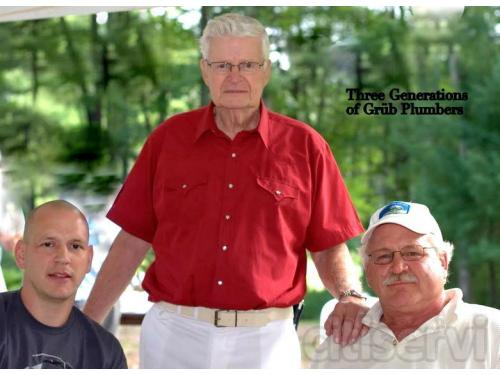 3 Generations of Grub Master Plumbers