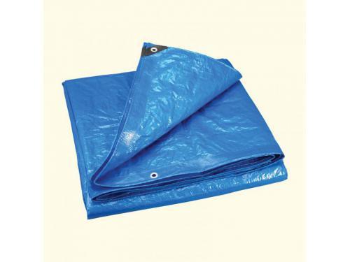 Blue Poly Canvas Tarps