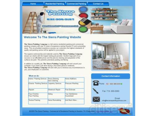Residential Painting Services Houston TX