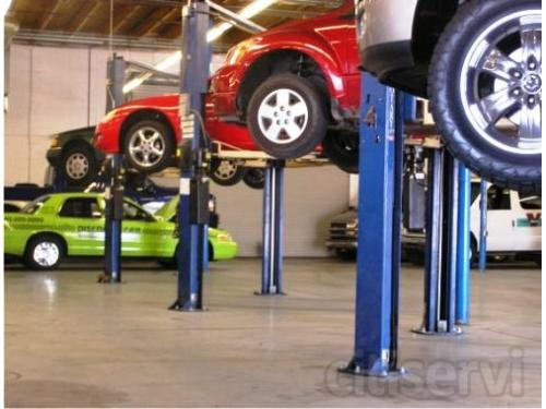 South auto repair bays at Allstate Transmission and Auto Repair in Phoenix