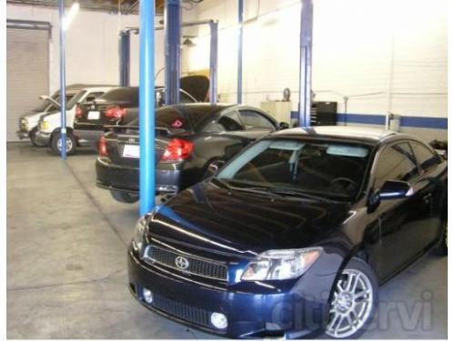 North auto repair bays at Allstate Transmission and Auto Repair in Phoenix