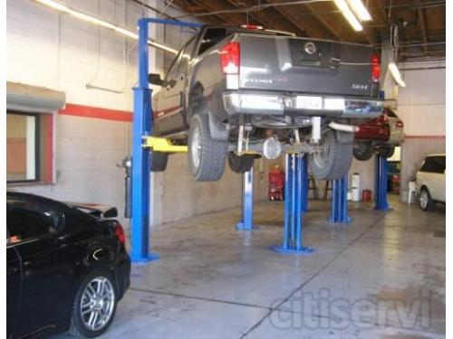 South Transmission repair bays at Allstate Transmission and Auto Repair in Phoenix