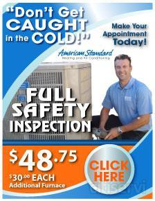*$30.00 Additional Furnace